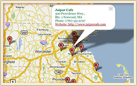 Indian Restaurants in New England - Link